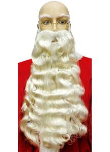 Santa Beard White