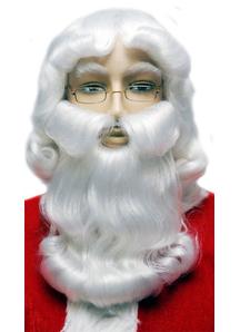 Santa Claus Set White