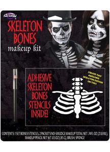 Skeleton Bones Make Up Kit