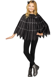 Spiderweb Poncho For Children