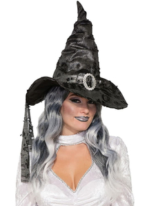 Tattered Witch Hat For Adults