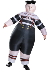 Tweedledum And Tweedledee Inflatable Costume For Adults