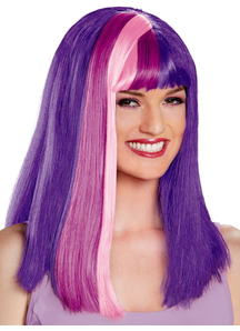 Twilight Sparkle Wig For Adults