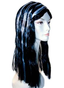 Vampire Wig Black/White