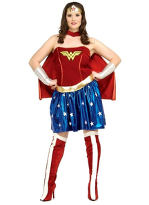 Wonder Woman Adult Plus Costume