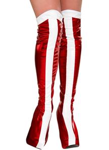 Wonder Woman Boots Adult