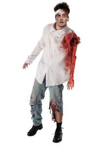 Wounded Zombie Adult Costume