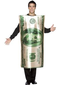 100 $ Bill Adult Costume