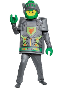 Aaron Costume For Children From Nexo Knights