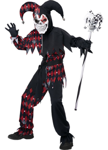 Angry Jester Child Costume
