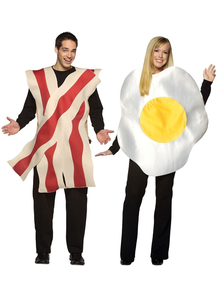 Bacon Eggs Couple Costumes