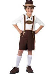 Bavarian Guy Child Costume