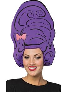 Beehive Purple Wig