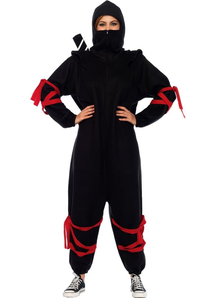 Black Ninja Women Costume
