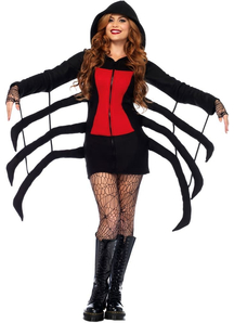 Black Spider Adult Costume