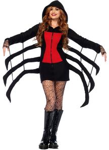 Black Spider Adult Costume