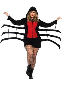 Black Spider Adult Plus Costume