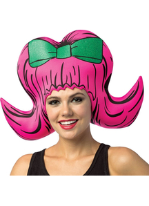 Bouffant Pink Wig