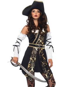 Buccaneer Black Sea Adult Costume