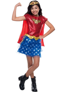 Darling Wonder Woman Child Costume
