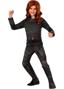 Deluxe Black Widow Child Costume