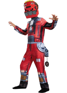 Dinotrux Red Costume For Children
