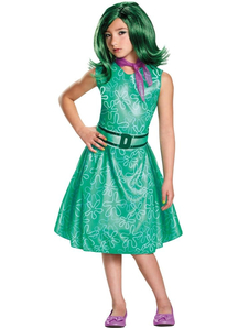 Disgust Child Costume From Inside Out Movie