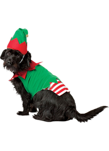 Elf Dog Costume for large dogs
