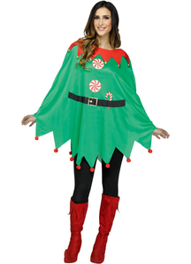 Elf Poncho Adult