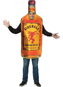 Fireball Adult Costume