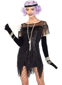 Flapper Foxtrot Flirt Costume For Women