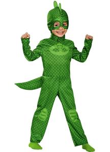 Gekko Costume For Children From Pj Masks