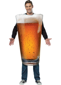 Get Real Beer Adult Costume