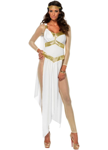 Golden Goddes Adult Costume