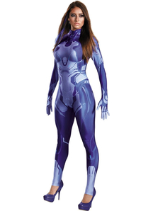 Halo Cortana Adult Costume