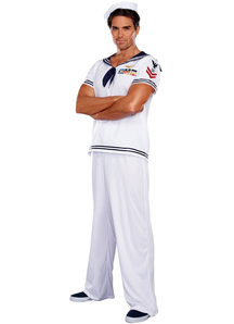 Handsome Sailor Adult Costume