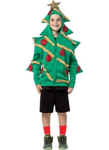 Hoodie Christmas Tree Child
