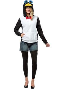 Hoodie Penguin Adult
