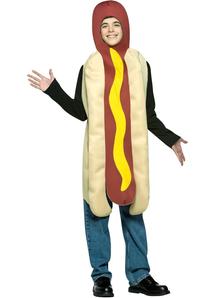 Hot Dog Teen Costume