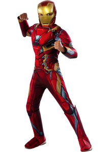 Irom Man Civil War Costume