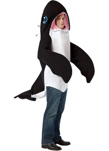Killer Whale Adult Costume 2