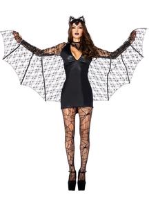 Lace Bat Adult Costume