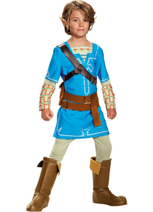 Link Breath of the Wild Child Costume