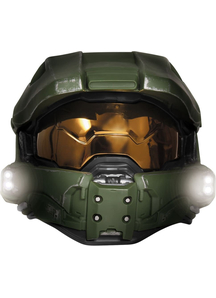Master Chief Light Up Child Mask