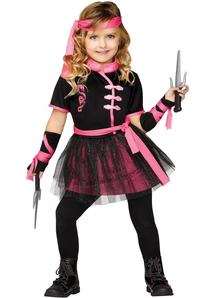 Miss Ninja Child Costume - 20797