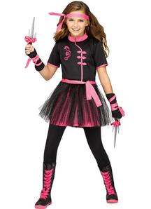 Miss Ninja Child Costume - 20914