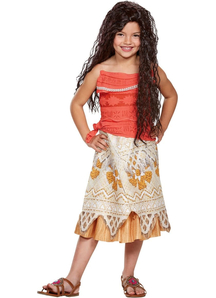 Moana Child Costume