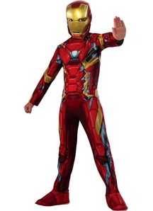 New Iron Man Child Costume