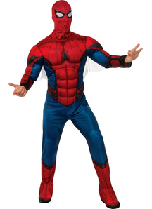 New Spiderman Adult Costume