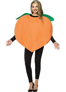 Peach Adult Costume